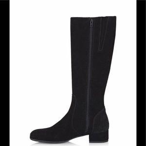 C LA CANADIENNE WOMEN'S BLACK SUEDE Boots